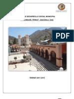Plan de Desarrollo Municipal San Miguel Peras