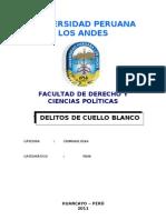 Monografia de Los Delitos de Cuello Blanco