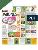 Jabones Decorados Con Scrackbook