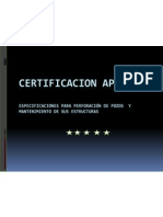 Certificacion API 4f