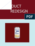Product Redesign