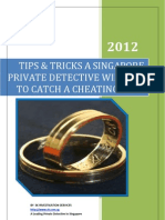 Catch a Cheating Wife by a Private Detective in Singapore