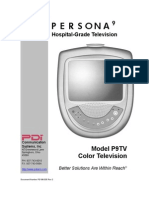 PDI P9TV Color Television