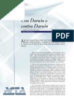 Con Darwin o Contra Darwin
