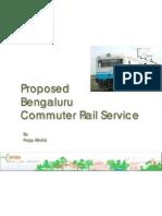 Bengaluru Commuter Rail Presentation by Prajal