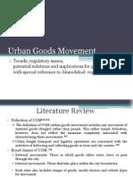 Ppt - Urban Goods Movement