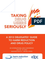 Harm Reduction & Drug Policy Delegate Guide