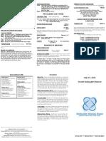 Bulletin - 20120715