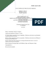 Niday vs GMAC, MERS, et al July 18, 2012