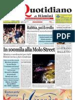2.7.2012 Nuovo Quoidiano Rimini