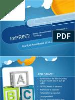 ImPRINT Introduction