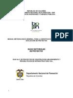 Guía  Proyectos de Infraestructura DNP