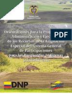 Recursos para resguardos indígenas, guía para su manejo