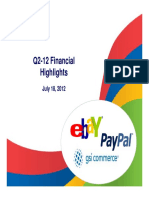 eBay Q2 Earnings