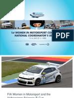 FIA WMC Seminar Wednesday Part 2