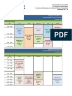 Horarios Mercadotecnia y Publicidad B-2012
