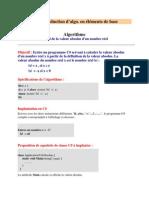 TP Algorithmes en C#