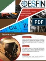 Fundamentos y Analisis Del Sector Minero