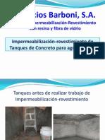 2-Impermeabilización de Tanques de Concreto-Arq. Yoira Barboni M.