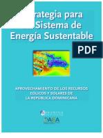Estrategia para un Sistema de Energía Sustentable