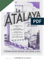 La Atalaya año 1965
