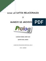 Base de Datos Relacionales y Archivos en Prolog