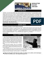2008 December Newsletter