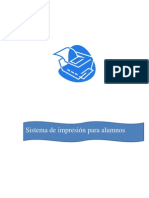 sistema de impresion para alumnos en español