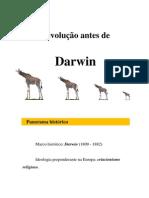 Aula 4 - A Evolucao Antes de Darwin