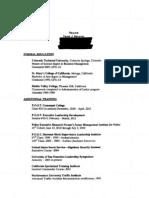Daniel Mahoney Resume