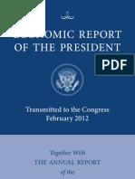 Full 2012 Economic Report of the President