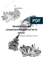 TPE Modelisation du comportement défensif de la seiche - David Monge