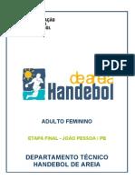 Relatório Final Brasileiro Feminino 2008-09