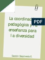 Coordinación pedagógica para la diversidad