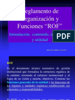 Gestion Municipal ROF