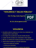 Violencia y Salud Publica