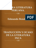 La Otra Literatura Peruana.
