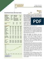 BIMBSec - Padini Holdings - 20120719 - Re-Initiate Coverage