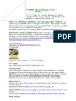 Forest Information Update Vol 13 No 7 - July 2012