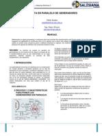 Paralelo de Generadores PXZP
