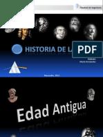 Historia de La Optica