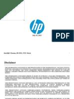 HP Presentation New