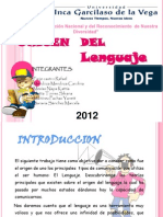 Origen Del Lenguaje