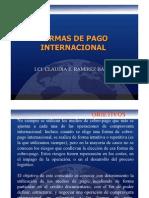 Formas de pago internacional (INCOTERMAS)