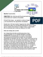 Primer Informe 2012