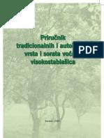 Priručnik tradicionalnih i autohtonih vrsta i sorata voćaka visokostablašica