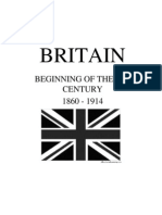 Beginning of the 20th Century - Britian