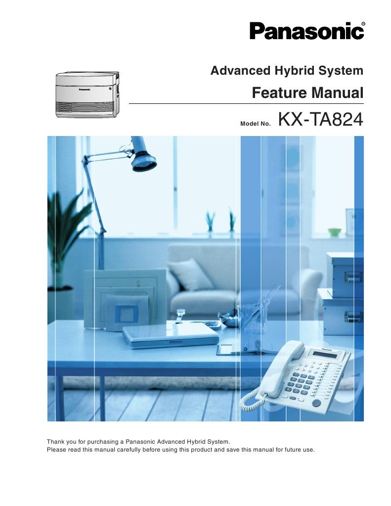 kx ta824 feature manual voicemail telephone rh scribd com panasonic kx-tes824 installation manual panasonic kx-tes824 installation manual