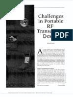 Challenge in RF Design