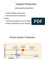 Basics of Power System Protection
